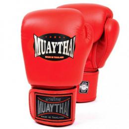 Перчатки боксерские MUAY THAI - Red
