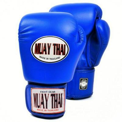 Перчатки боксерские MUAY THAI - Blue