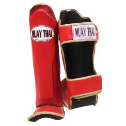 Защита голени Muay Thai - Red