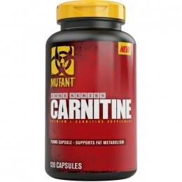 Л- Карнитин Mutant Core Series L-Carnitine 120 капс.