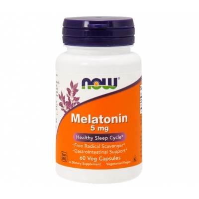 Мелатонин Now Foods Melatonin 5 мг. 60 таб.