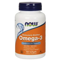 Омега 3 Now Foods Omega 3  100 капс.