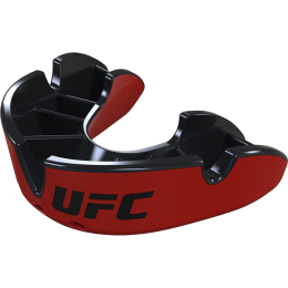 Капа Opro Silver Level UFC - Black/Red