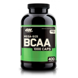 BCAA Optimum Nutrition 1000 400 капс.