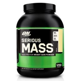 Гейнер Optimum Nutrition Serious Mass 2727 гр.