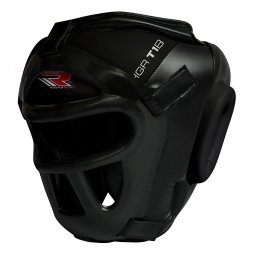 Шлем RDX Boxing Head Guard Protector GRILL HGX-T1 - Black