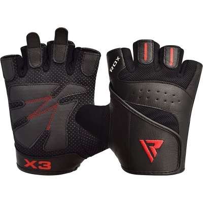 Перчатки для фитнеса RDX Leather S2