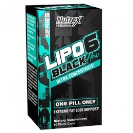 Жиросжигатель Nutrex Lipo 6 Black Hers Ultra Concentrate 60 капс.
