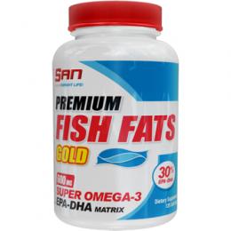 Омега 3 SAN Premium Fish Fats Gold 60 таб.