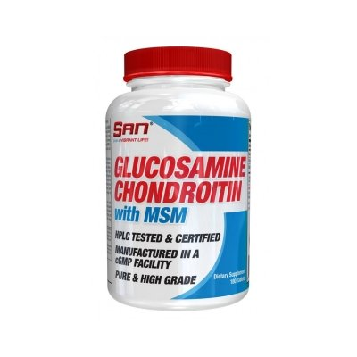 Для суставов и связок San Glucosamine Chondroitin 90 таб.