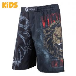 Детские шорты ММА Rusco Sport Lion