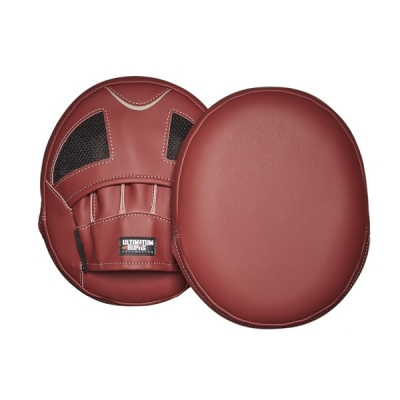 Лапы Ultimatum Boxing AirPads MAROON - Red
