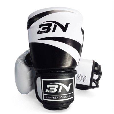 Перчатки боксерские BN Fight Classic - White