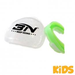 Детская боксерская капа BN Fight - Acid Green