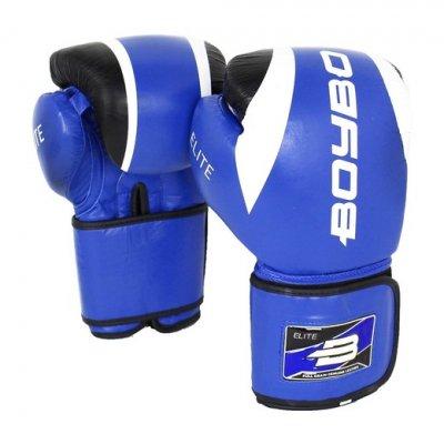 Перчатки боксерские BoyBo Elite - Blue