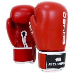 Перчатки боксёрские BoyBo Pro - Red