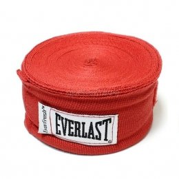 Бинты боксерские Everlast 250mm - Red