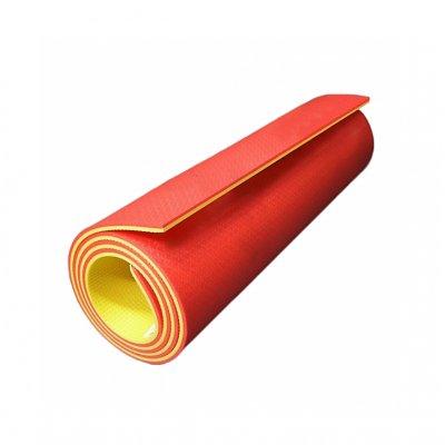 Коврик для фитнеса Go Do OPTIMA PLUS 1800x600x8 - Red/Yellow