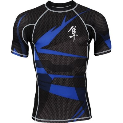 Рашгард Hayabusa Metaru S/S - Black/Blue