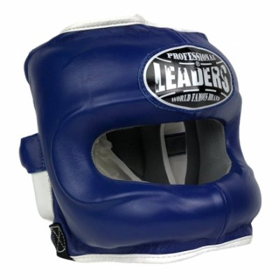 Шлем боксерский LEADERS LS - Blue