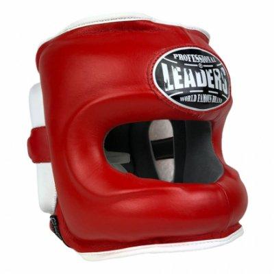 Шлем боксерский LEADERS LS - Red
