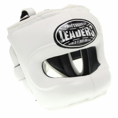 Шлем боксерский LEADERS LS - White