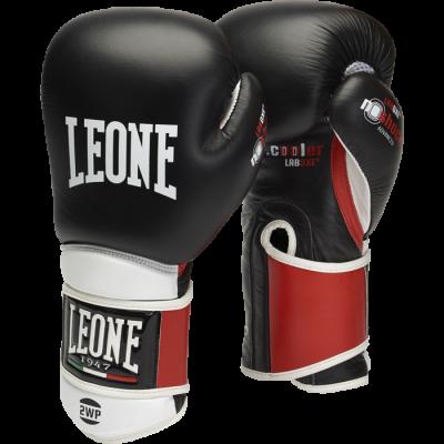 Перчатки боксерские Leone IL Tecnico - Black/Red