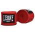 Боксерские бинты Leone 5м - Black/Blue/Red