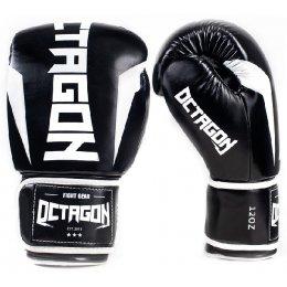 Перчатки боксерские Octagon Storm - Black