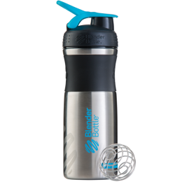 Шейкер BlenderBottle SportMixer Stainless Steel 828 мл.