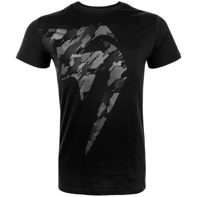 Футболка Venum Giant Camo 2.0 - Black/Grey