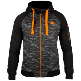 Толстовка Venum Tramo 2.0 - Black/Orange