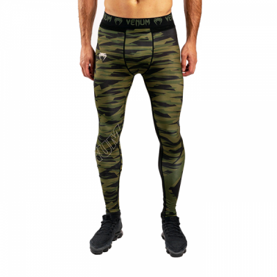 Компрессионные штаны Venum Contender 5.0 - Khaki