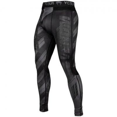 Штаны компрессионные Venum Amrap - Black/Grey