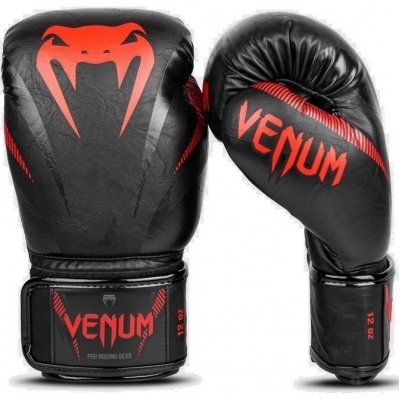 Перчатки боксерские Venum Impact - Black/Red
