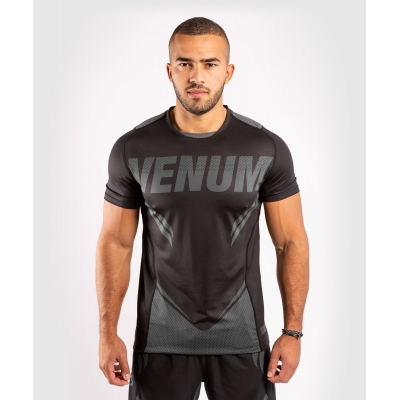 Футболка Venum ONE FC Impact Dry Tech - Black/Grey