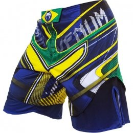 Шорты Venum Brazilian Hero - Blue/Green/Yellow