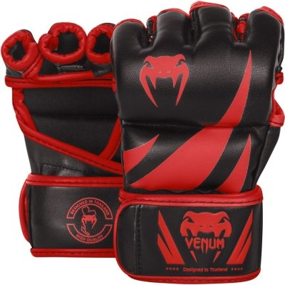 Перчатки ММА Venum Challenger - Black/Red